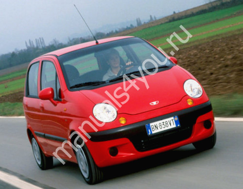 daewoo matiz service manual инмтрукция по ремонту автомобиля дэу матиз manuals4you
